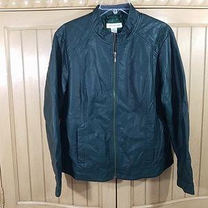 Christopher&Banks Jacket, Hunter Green, sz L
